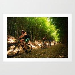 Eco-tourism Art Print
