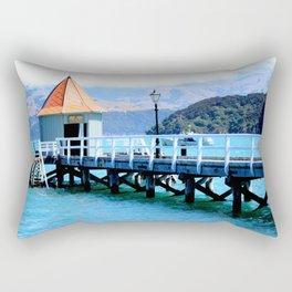 Akaroa Shoreline  Rectangular Pillow