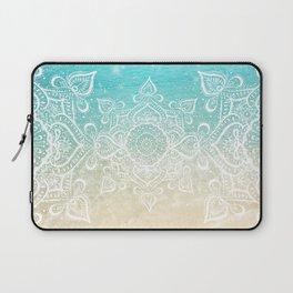 Beach Mandala Laptop Sleeve
