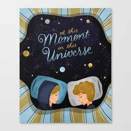 SKAM Evak in This Universe Canvas Print