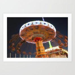 swings. Art Print