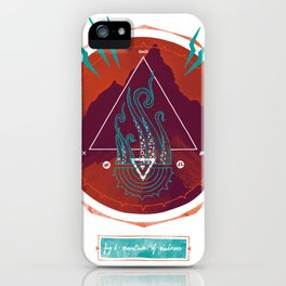 The Mountain of Madness iPhone Case