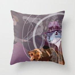 dawnset Throw Pillow
