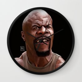 Caricature of Terry Crews Wall Clock