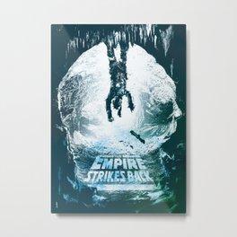 The Empire Strikes Back Metal Print