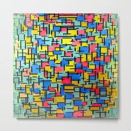 Piet Mondrian Composition Metal Print