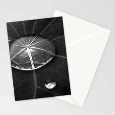 water drop XIV Stationery Cards