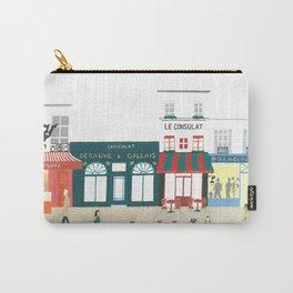 Shopfronts of Paris Carry-All Pouch