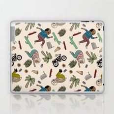 On the freedom experienced by Desert Bike Harpies.   Laptop & iPad Skin