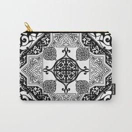Ethnic Folk Art Mandala Exotic Boho Carry-All Pouch