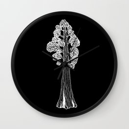 Giant Sequoia Wall Clock