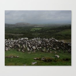 The Irish Wild West (County Clare) Canvas Print