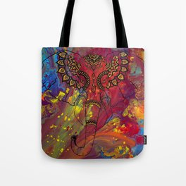 Gentle Warrior Tote Bag
