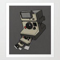 Cam-ception (continuous snapshot) Art Print