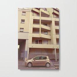 Gentle Greeter - Renault Modus Metal Print