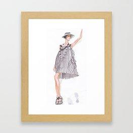 Stripes 2! Framed Art Print