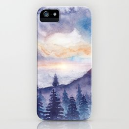 Into The Forest IX iPhone Case