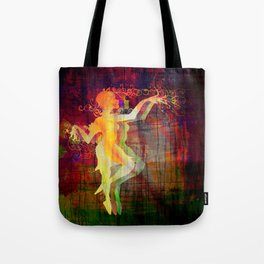 Alice Dancing Darkly Tote Bag
