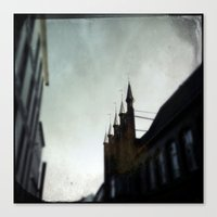 spires Canvas Prints featuring Rathaus Spires by Martin Llado