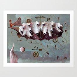 Wind Makers Art Print