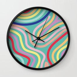 Pattern 9 Wall Clock