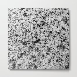 Speckled Marble Metal Print