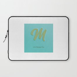 M is For Mortacci Tua Laptop Sleeve