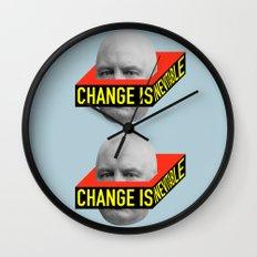 Change is Inevitable Wall Clock
