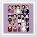 Kokeshis Women in the History by pendientera