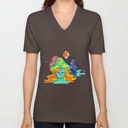 Mushrooms Unisex V-Neck