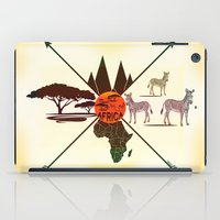 africa iPad Cases featuring Africa by famenxt
