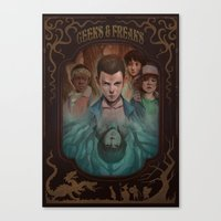Geeks and Freaks Canvas Print