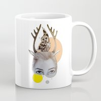 logo Mugs featuring Logo by Amy Bannister