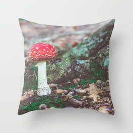 Under the Oak Throw Pillow