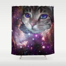 SpaceCat Shower Curtain