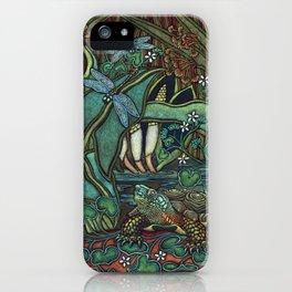 Wood Turtle iPhone Case