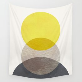 SUN MOON EARTH Wall Tapestry