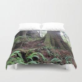 Giant Redwoods Rainforest 04 Duvet Cover