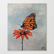 Majestic Monarch Butterfly Canvas Print
