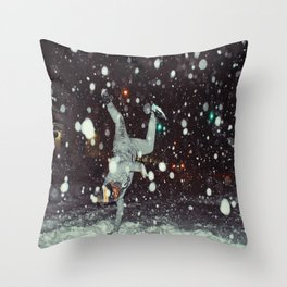 BBoy Rebels x Nyc Blizzard 2016 Throw Pillow