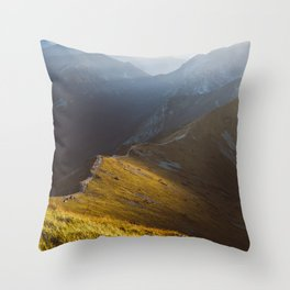 Just go - Landscape and Nature Photography Throw Pillow