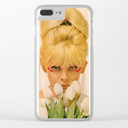 Flowers in November Clear iPhone Case