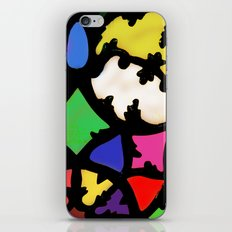 turkish in bright colors iPhone Skin
