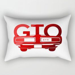Pontiac GTO - classic red - Rectangular Pillow