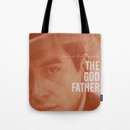 The Godfather, Alternative Movie Poster, Al Pacino, Marlon Brando, classic film Tote Bag