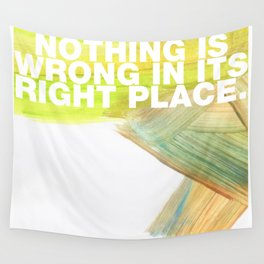 SUNDAYS ARE FOR SOULMATES / Nothing is wrong Wall Tapestry