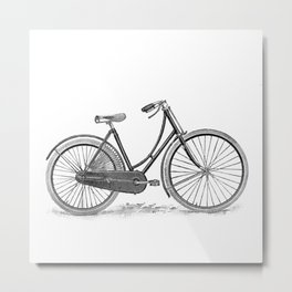 Bicycle 2 Metal Print