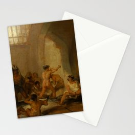 "Francisco Goya ""Casa de locos (The Madhouse)"" Stationery Cards"