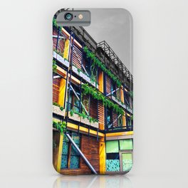 The Ivy Spinningfields Manchester Colour Burst iPhone Case