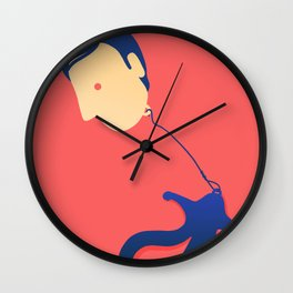 Floating Thoughts Wall Clock